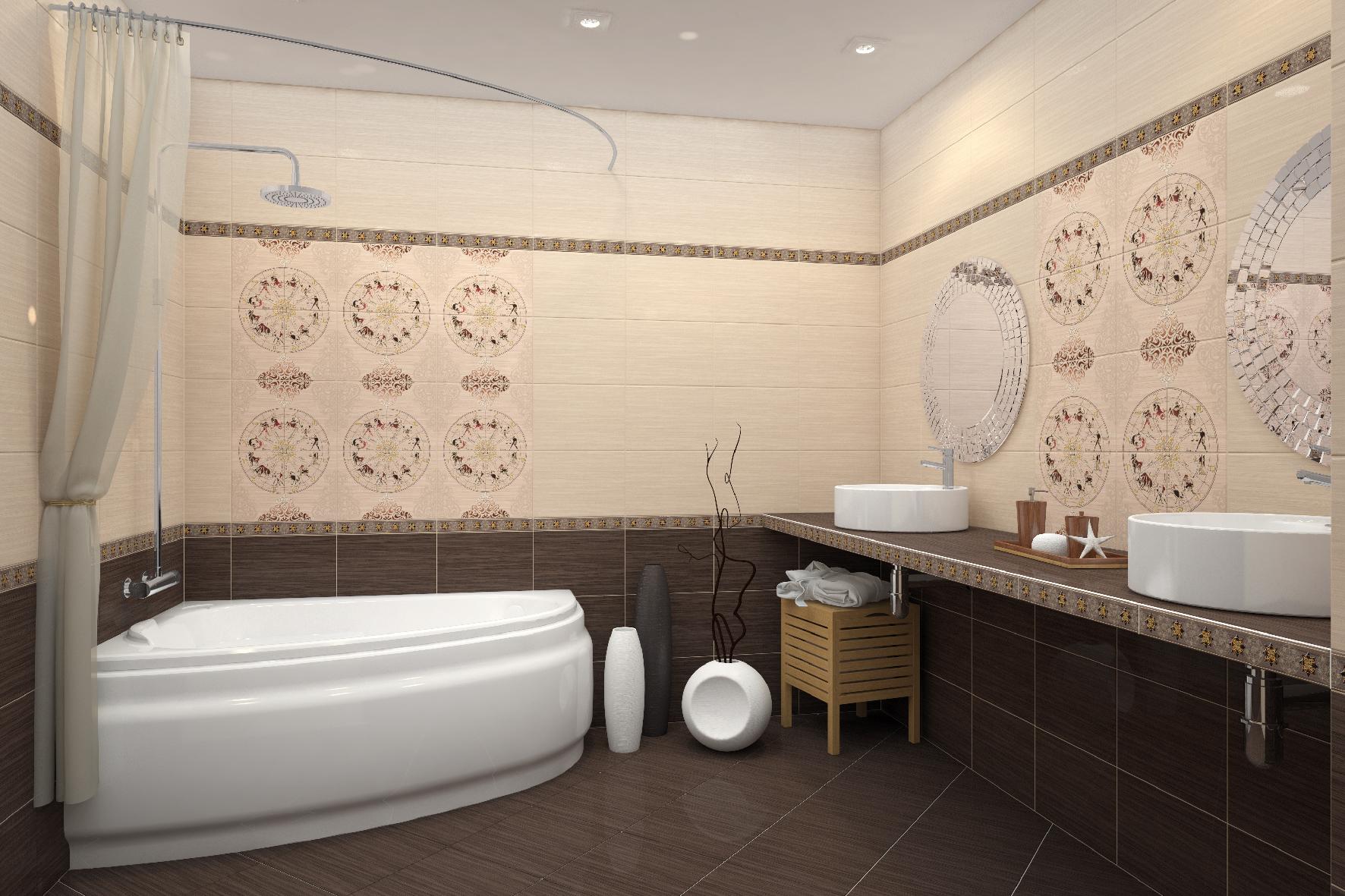 Плитка для ванной знаки зодиака